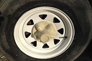 tire after rim painting